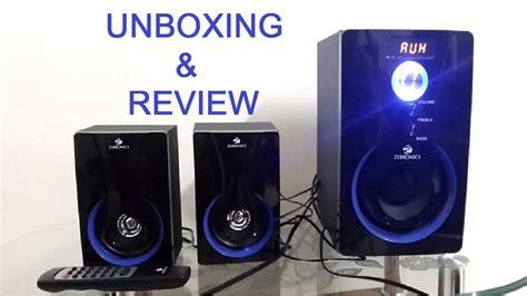 zebronics sw rucf  multimedia speakers unboxing