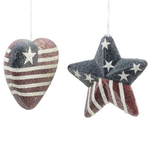 icy americana christmas ornament christmas ornaments