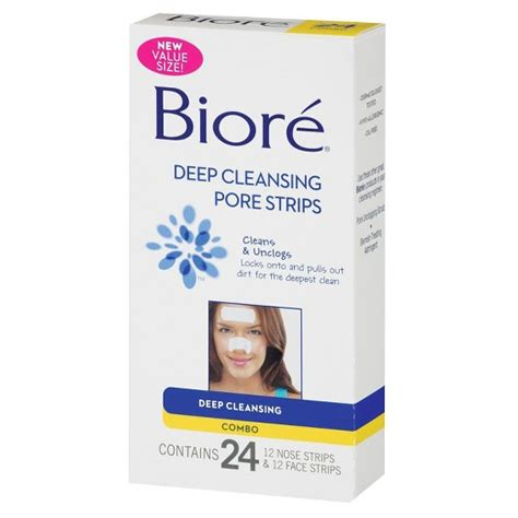Pore Detox Means What by Biore Cleansing Pore Strips 24 Count Target