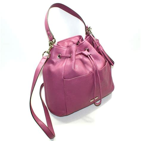 coach swing bag coach avery leather drawstring handbag swing bag rose