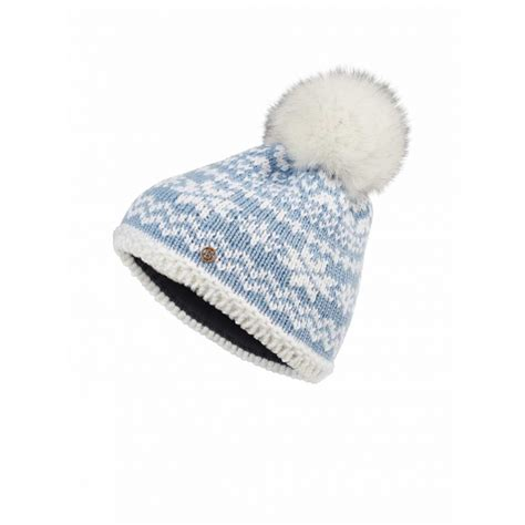 bogner kaira womens hat in pale blue bogner ski hat