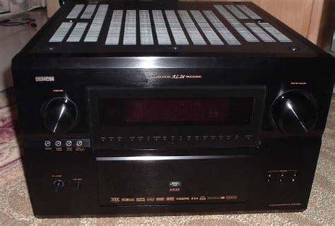 denon avr  av receiver review audioholics