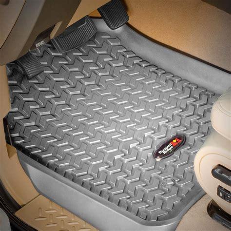 rugged floor rugged ridge 174 nissan titan xd crew cab 2016 all terrain floor liners