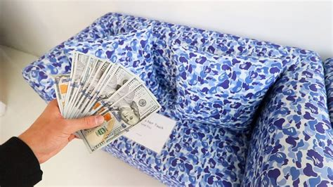 bape couch i just bought a bape couch youtube