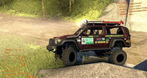 Jeep Xj Mods Jeep Se Xj Spin Tires Mod