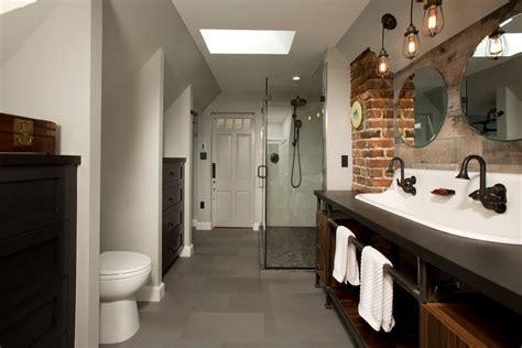 industrial bathroom design phenomenal rainfall shower head decorating ideas