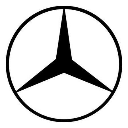 mercedes logo vector mercedes benz logo vector