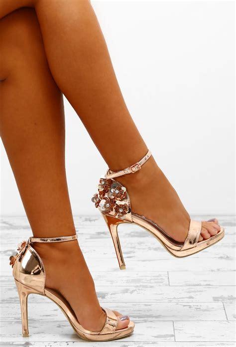 Gold Highheel platinum status gold sequin stiletto heels pink
