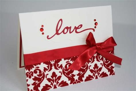 Valentines Day Handmade Card - valentines day handmade greeting cards 2016
