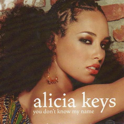alicia keys you don t know my name you don t know my name by alicia keys cds with didierf