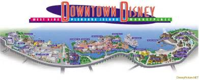 Downtown Disney Florida Map by Downtown Disney Map Picture Downtown Disney Map Image