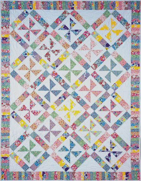Quilt Pattern Pinwheel by Pinwheels Of Yesteryear Quilt Pattern Bc 105 Intermediate