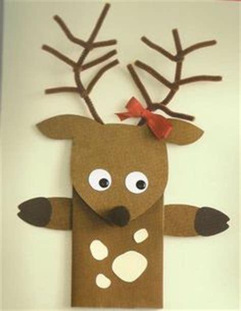 paper bag reindeer pattern 1000 images about paper bag puppets on pinterest paper