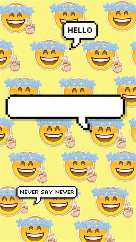imagenes de emojis para fondo de pantalla fondo para tu celular emoji by princessdesigns on deviantart
