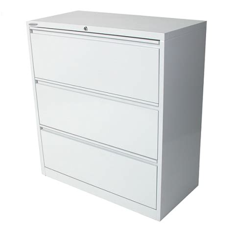 3 drawer lateral filing cabinet steelco 3 drawer lateral filing cabinet white satin