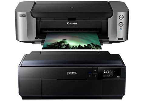 Printer Epson Vs Canon canon pixma pro 100 vs epson p600 damorashop