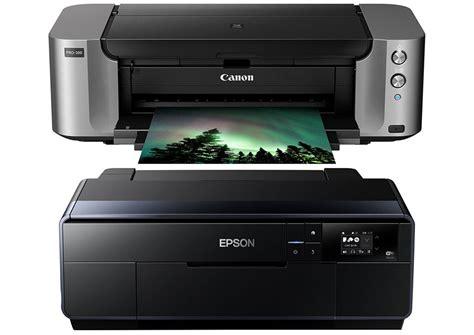 Printer Canon Epson canon pixma pro 100 vs epson p600 damorashop