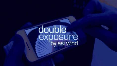 Double Exposure Card Trick Tutorial | double exposure by asi wind magic amino
