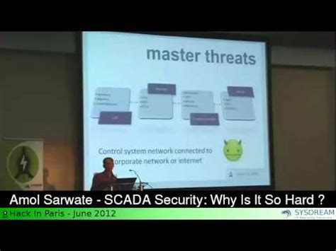 why is it so hard to get out of bed amol sarwate scada security why is it so hard youtube