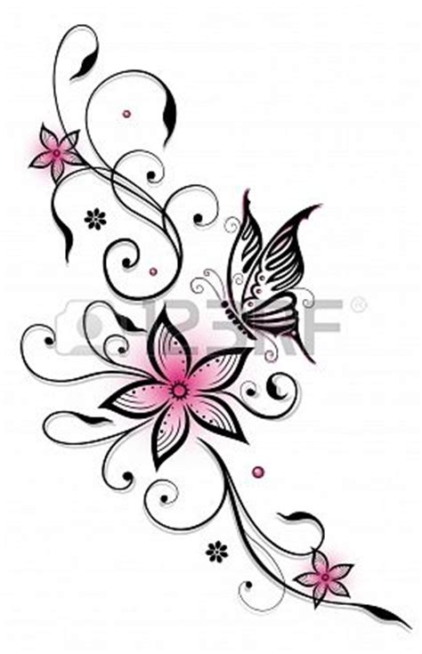 butterfly gun tattoo after the finished work by 17 best ideas about flower and butterfly tattoos on