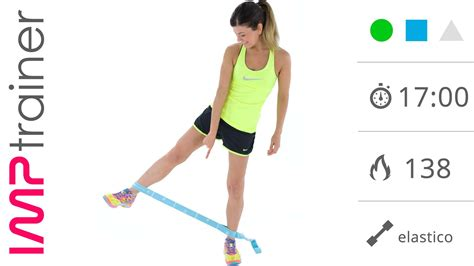 ginnastica interno cosce esercizi interno coscia con l elastico in piedi e a terra