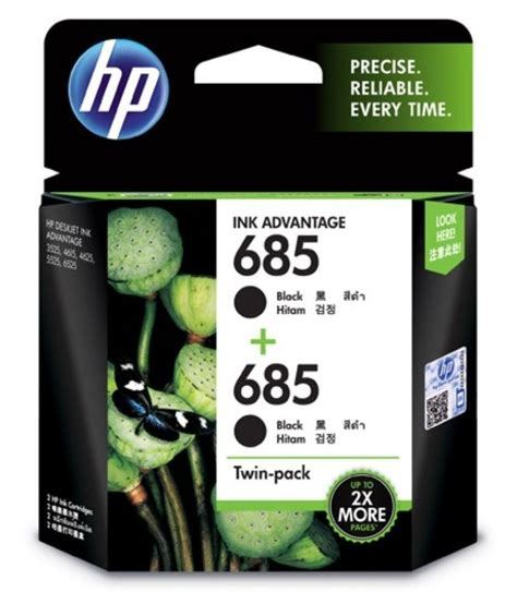 Hp 685 Black buy hp 685 black ink cartridge pack on9deals