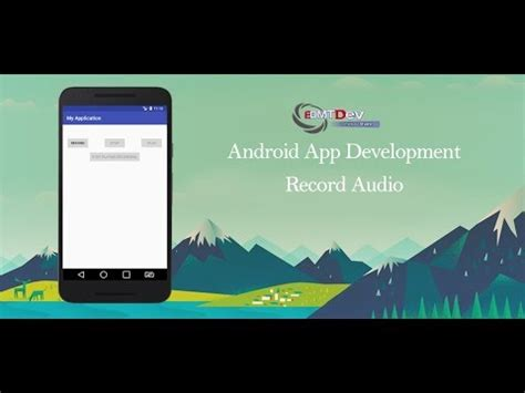 android studio camera2 tutorial how to create an audio recording app for android doovi
