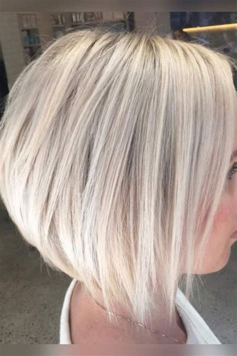layered angled bob by gia platinum blonde by best 25 stacked inverted bob ideas on pinterest