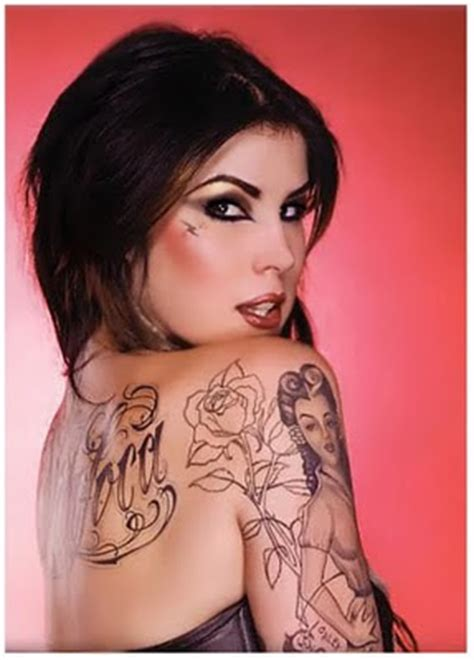 tattoo gallery kat von d news magazine photos gallery of kat von d tattoos