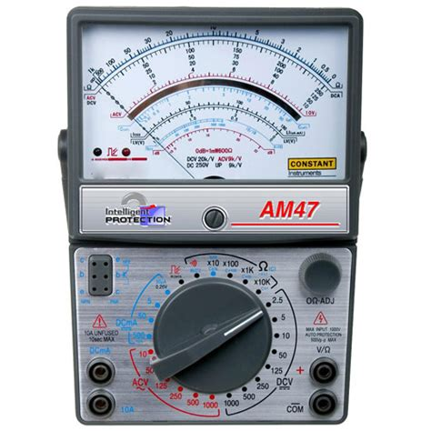 Multimeter Constant 50 constant am 47 analog multimeter karya mandiri