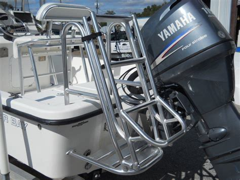 boat dive ladder blue coral sport fishing towers ladders and platforms