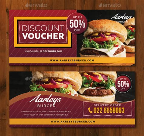 compelling restaurant discount card designs templates psd ai  premium templates