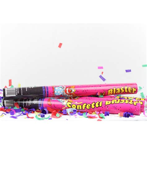 24 inch Confetti Cannon 4 pack   Wedding Sparklers USA