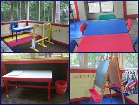 setting up the preschool classroom is always a work in