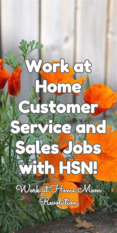 sales work at home and customer service on