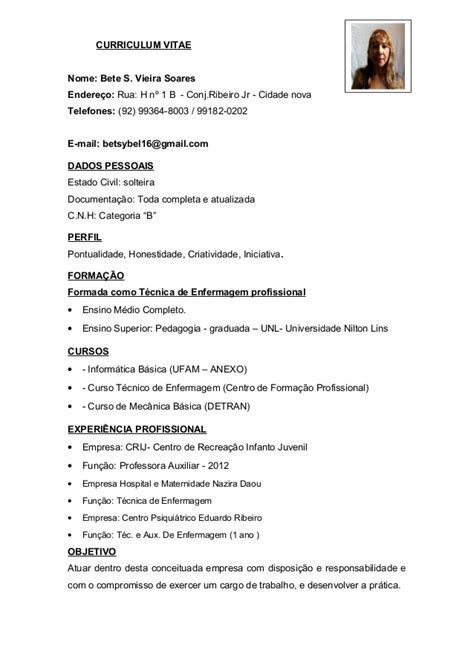 Modelo Curriculum Tecnologico curriculum pegagoga e tec de enferm
