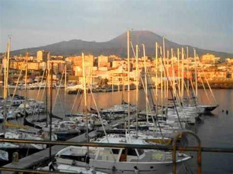di torre greco porto di torre greco al tramonto avi