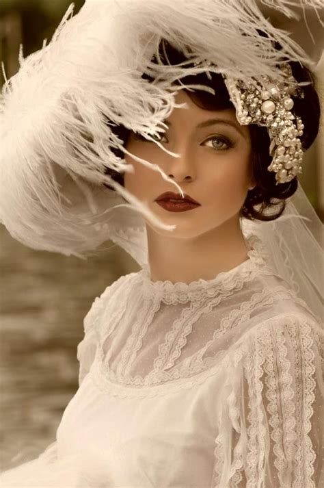 be glamorous by lindsay roaring 20s hair and makeup 1920s bride white feathers roaring twenties great gatsby