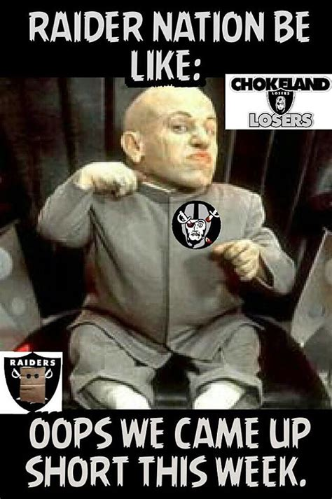 Funny Raiders Meme - oakland raiders suck memes 2015 edition westword