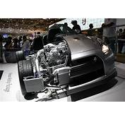 Cutaway Of The Nissan GT R Showing Engine And Intercooler