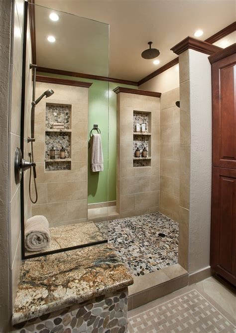 shower niche ideas bathroom traditional with glass shelves