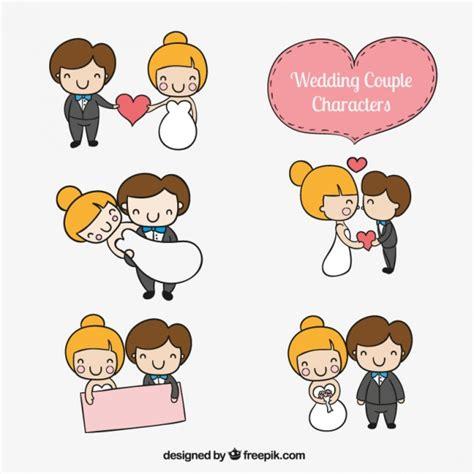 wedding characters wedding characters vector free
