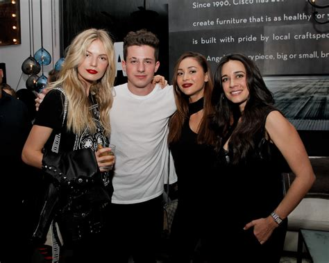 charlie puth attention model premiere of charlie puth s new single attention in
