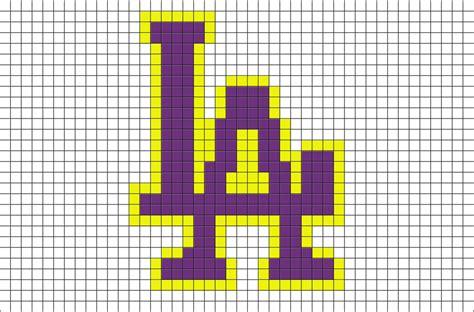 layout tool laker nba la lakers pixel art brik