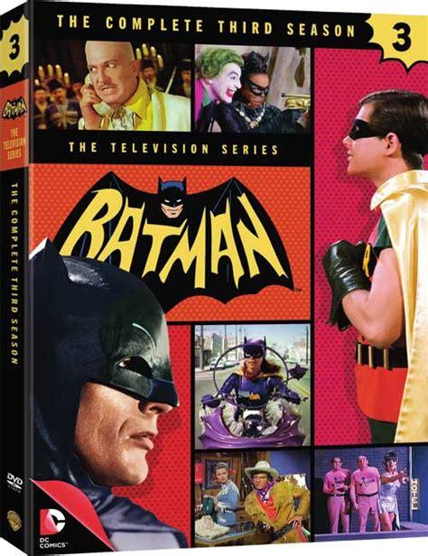best batman tv series batman dvd news press release for the complete 3rd season
