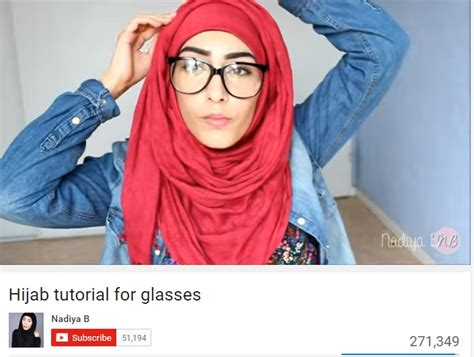 tutorial hijab paris kacamata hijab tutorial si pengguna kacamata dream co id