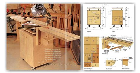 miter saw table plans pdf miter saw stand plans woodarchivist
