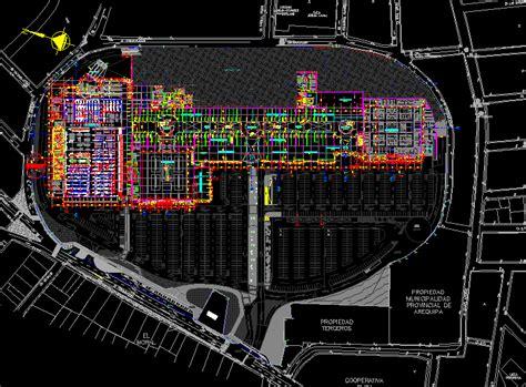 mall aventura plaza arequipa st floor plans dwg plan