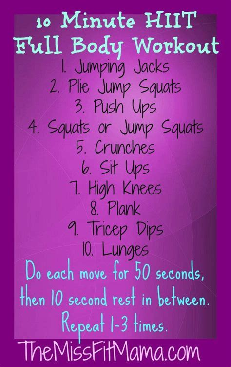 best 25 burst ideas on hiit workout