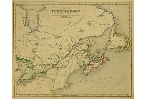 map of united states and canada border map of the united states canadian border showing the